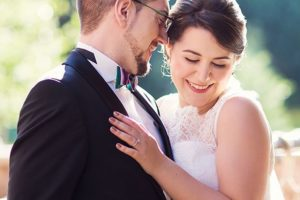 A wedding in Canada with Upinspired ceremony details and fireworkshellip