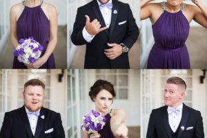 Wedding party shenanigans! rootweddings