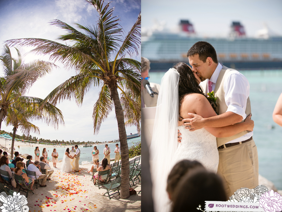 Disney Cruise Line Wedding Disney Dream Castaway Cay