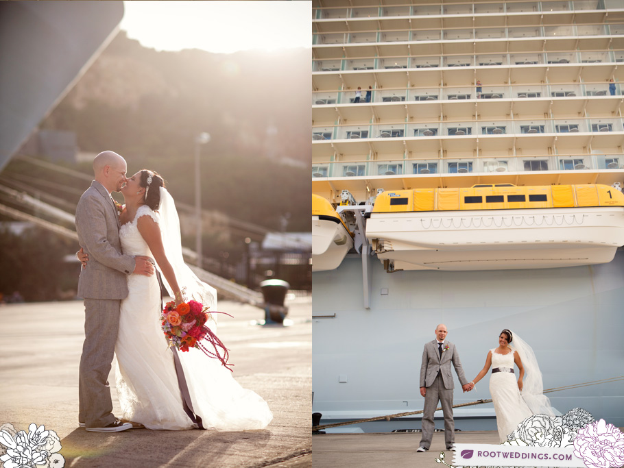 Wedding on cruise ship royal caribbean for Royal caribbean cruise wedding