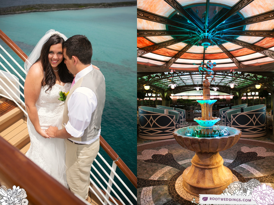 Disney Cruise Line Wedding Photographer Root Photography