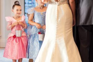 The very second DisneyWeddings locked in this flower girl ashellip