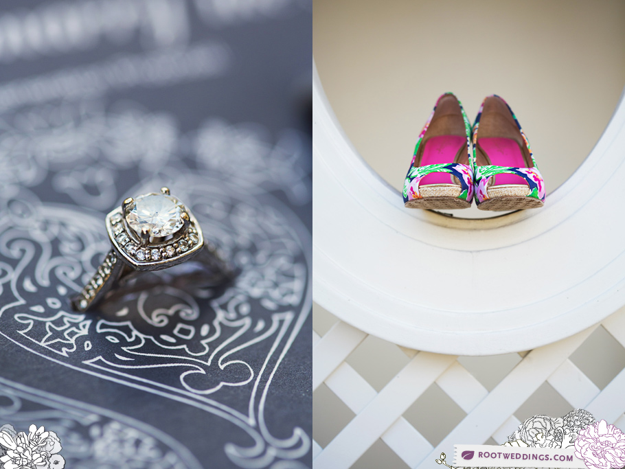 Lilly Pulitzer Wedding Shoes