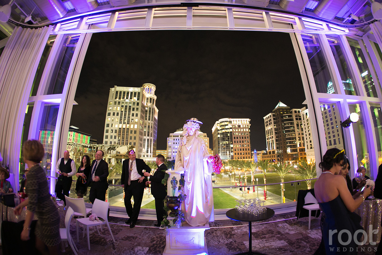 Dr. Phillips Center for the Performing Arts Wedding 38