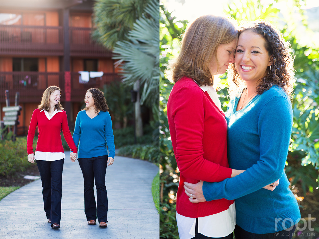Orlando Florida Same Sex Engagement Session 06