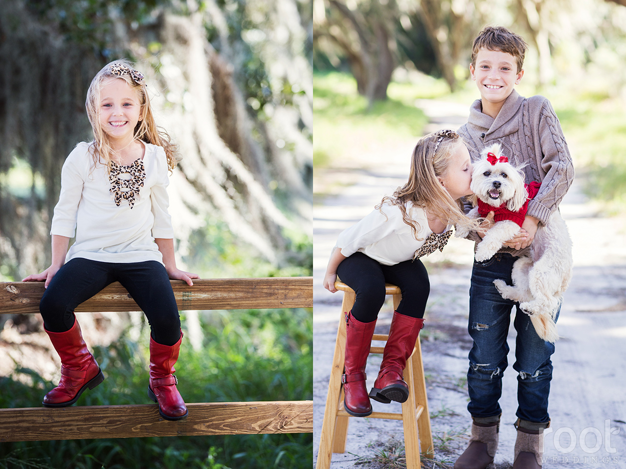 Winter Garden Family Portrait Session 03