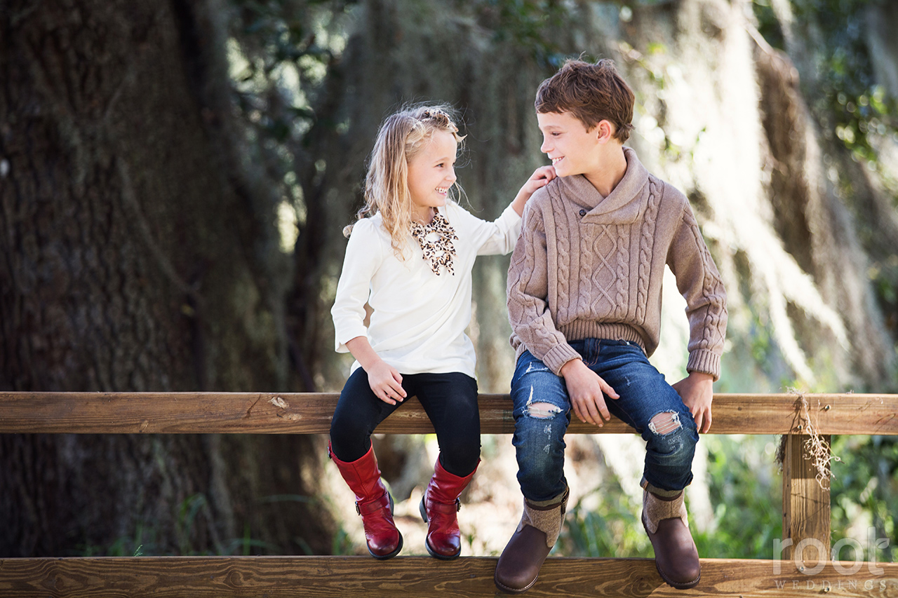 Winter Garden Family Portrait Session 04