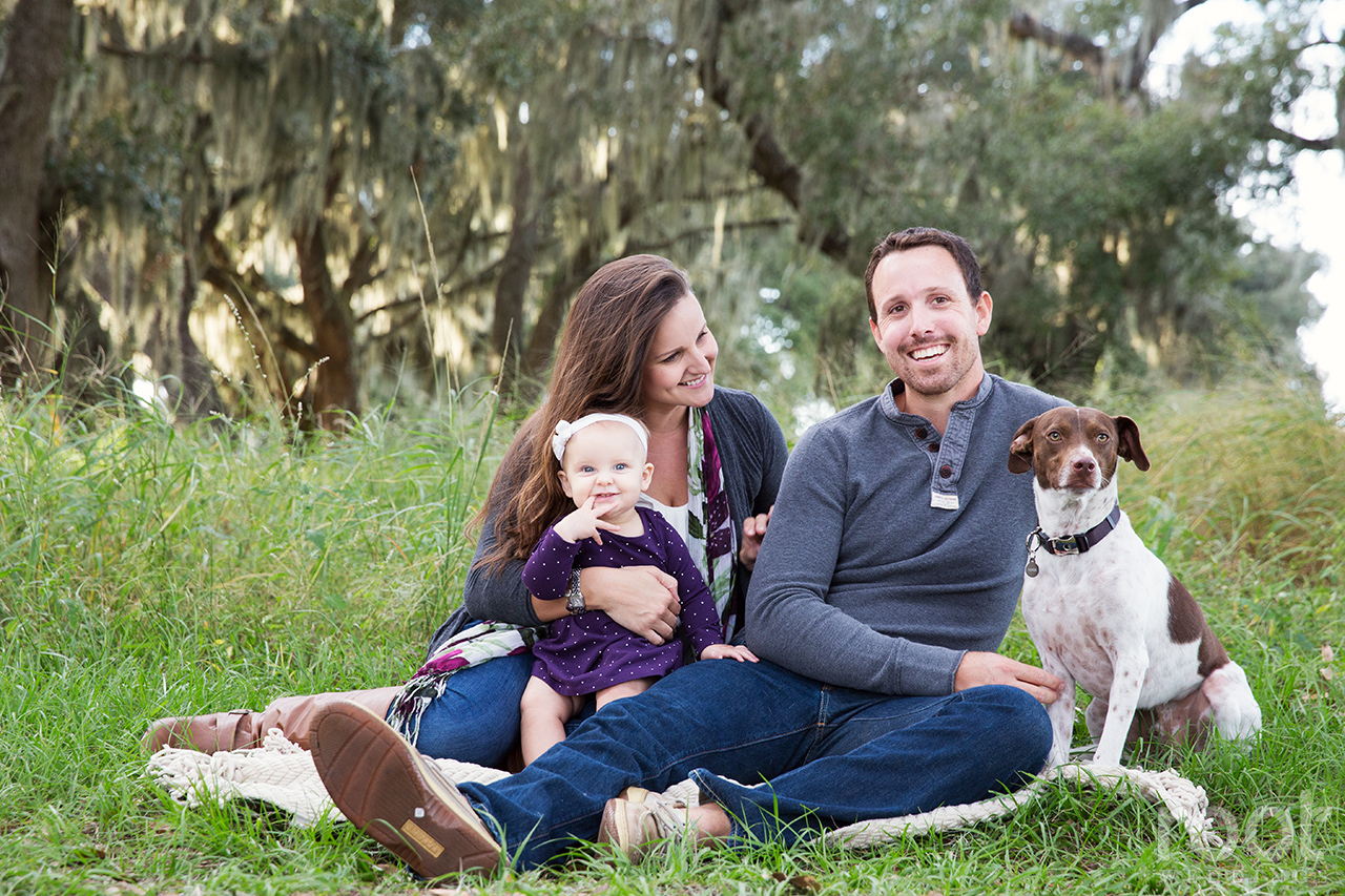 Winter Garden Family Session 06