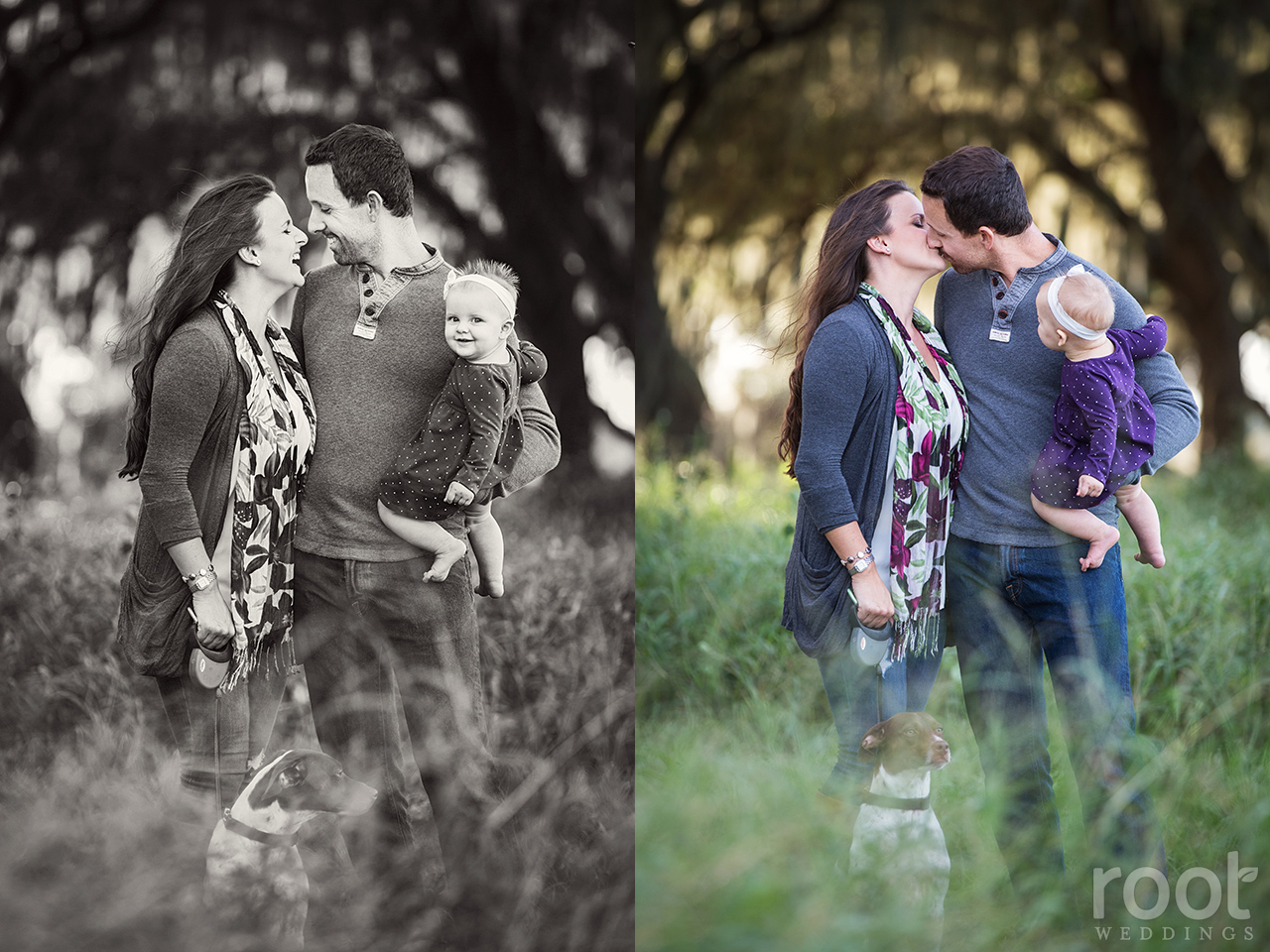 Winter Garden Family Session 10