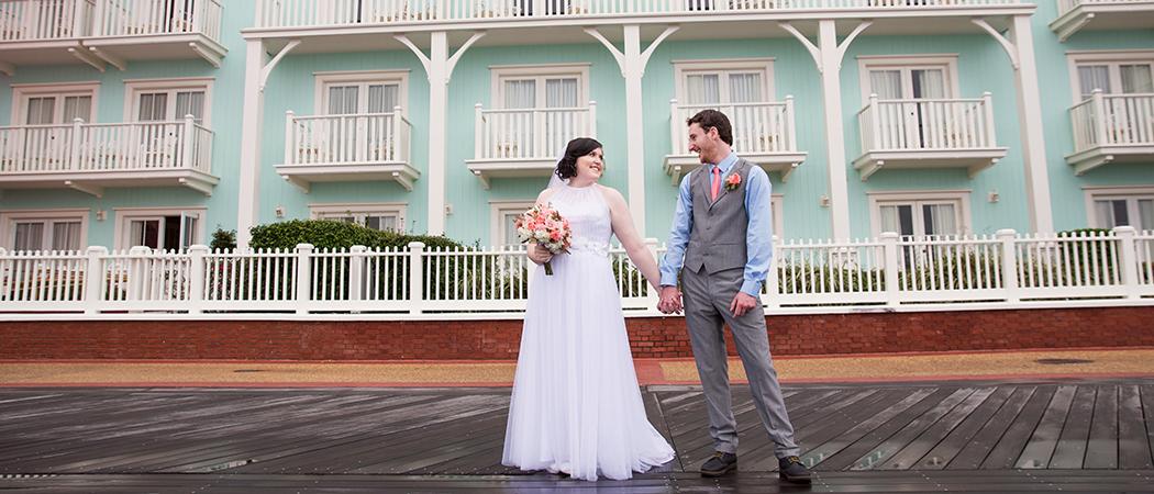 Megan + Conal : Orlando Florida Wedding