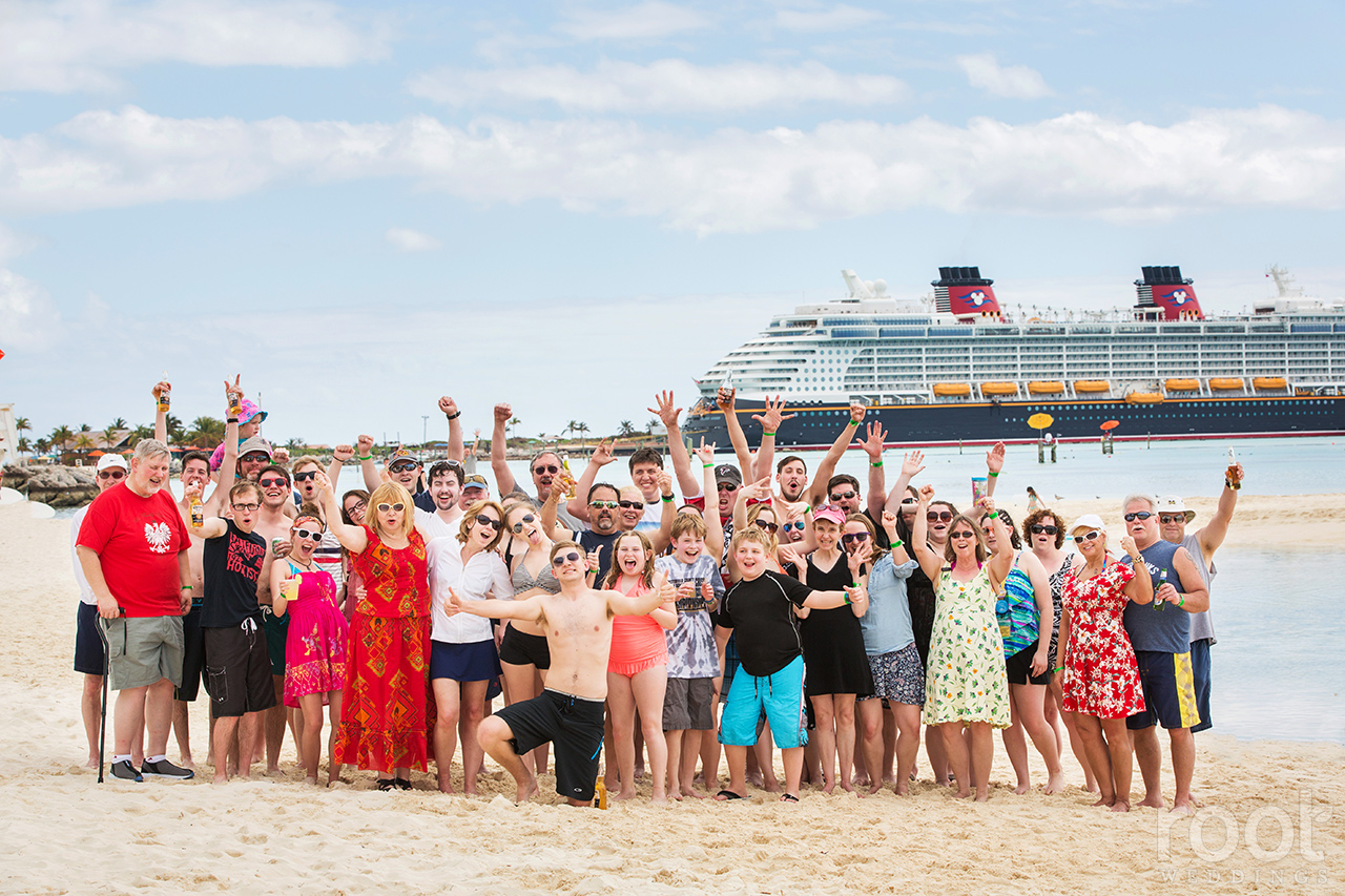 Disney Cruise Line Wedding Photographer