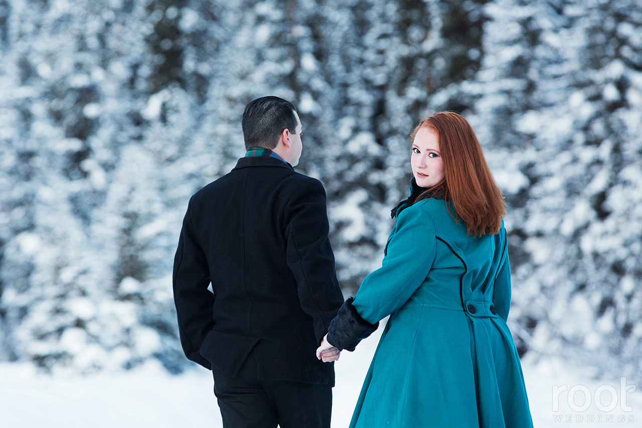 Fairmont Chateau Lake Louise Engagement Session 02