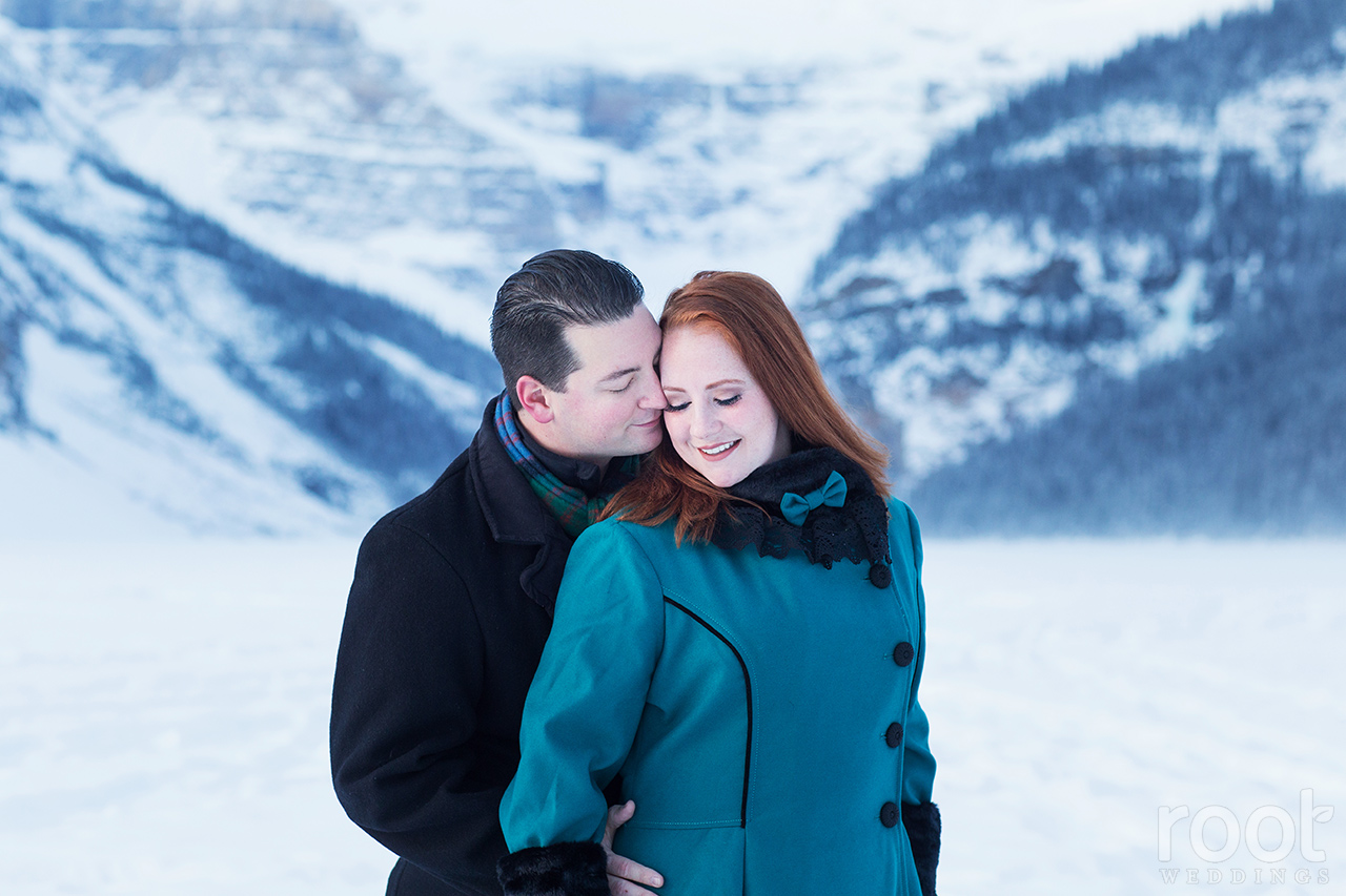 Fairmont Chateau Lake Louise Engagement Session 05