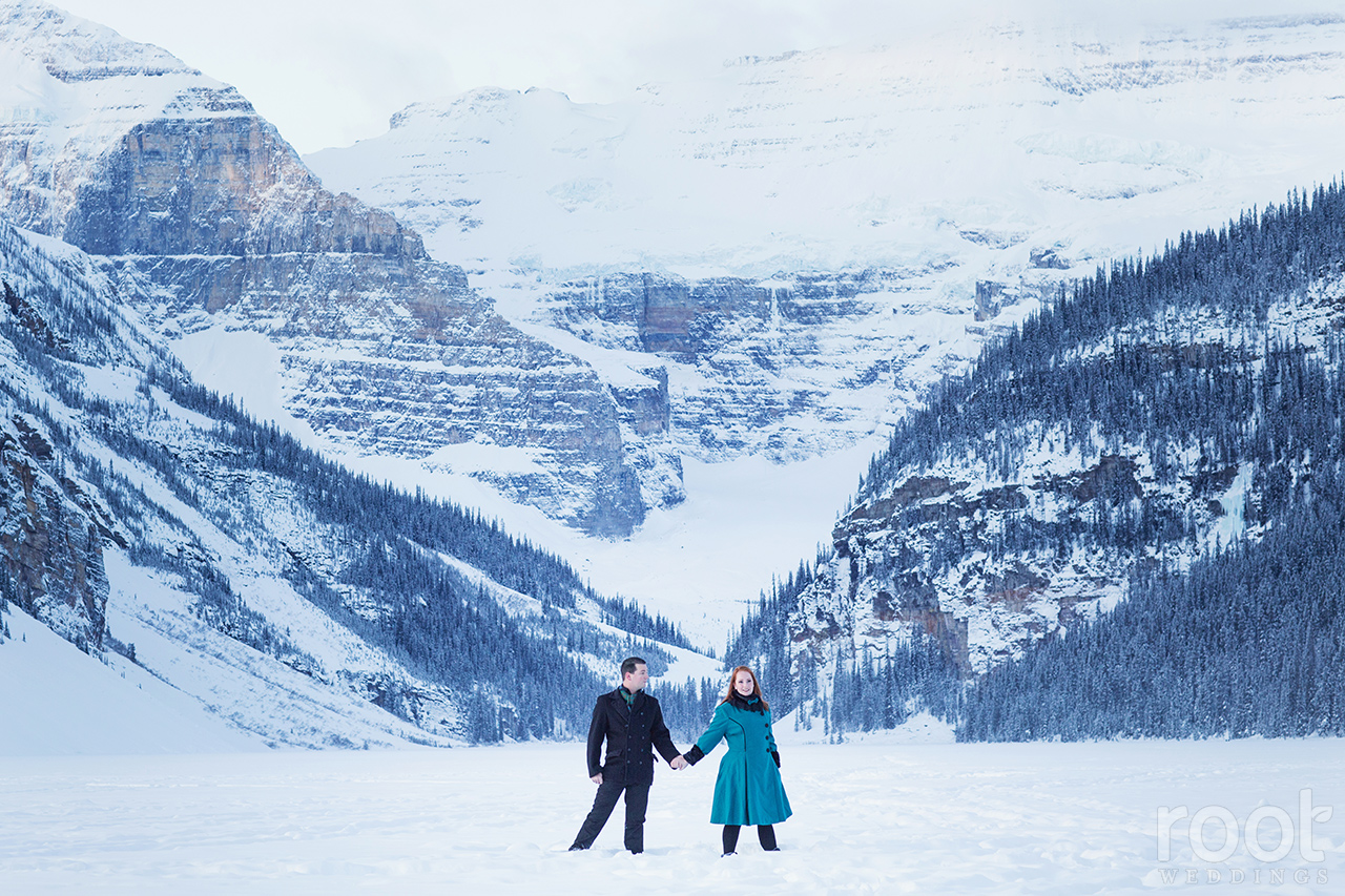 Fairmont Chateau Lake Louise Engagement Session 06