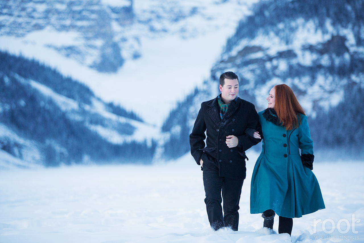 Fairmont Chateau Lake Louise Engagement Session 08