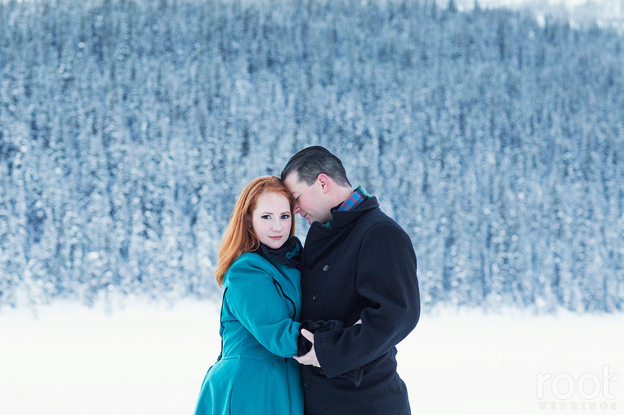 Fairmont Chateau Lake Louise Engagement Session 11