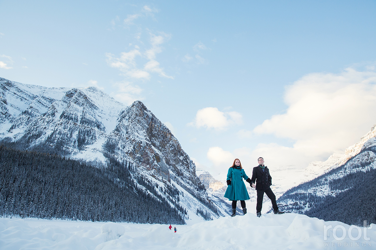 Fairmont Chateau Lake Louise Engagement Session 12