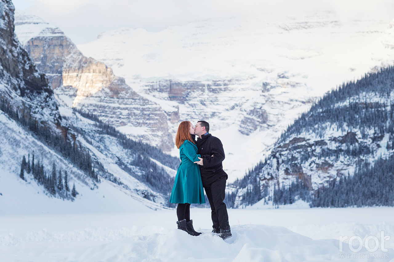 Fairmont Chateau Lake Louise Engagement Session 13