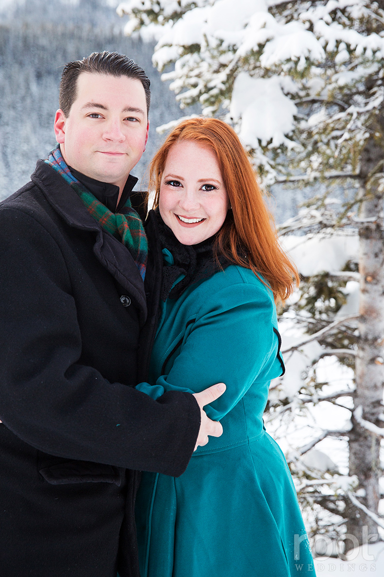 Fairmont Chateau Lake Louise Engagement Session 14