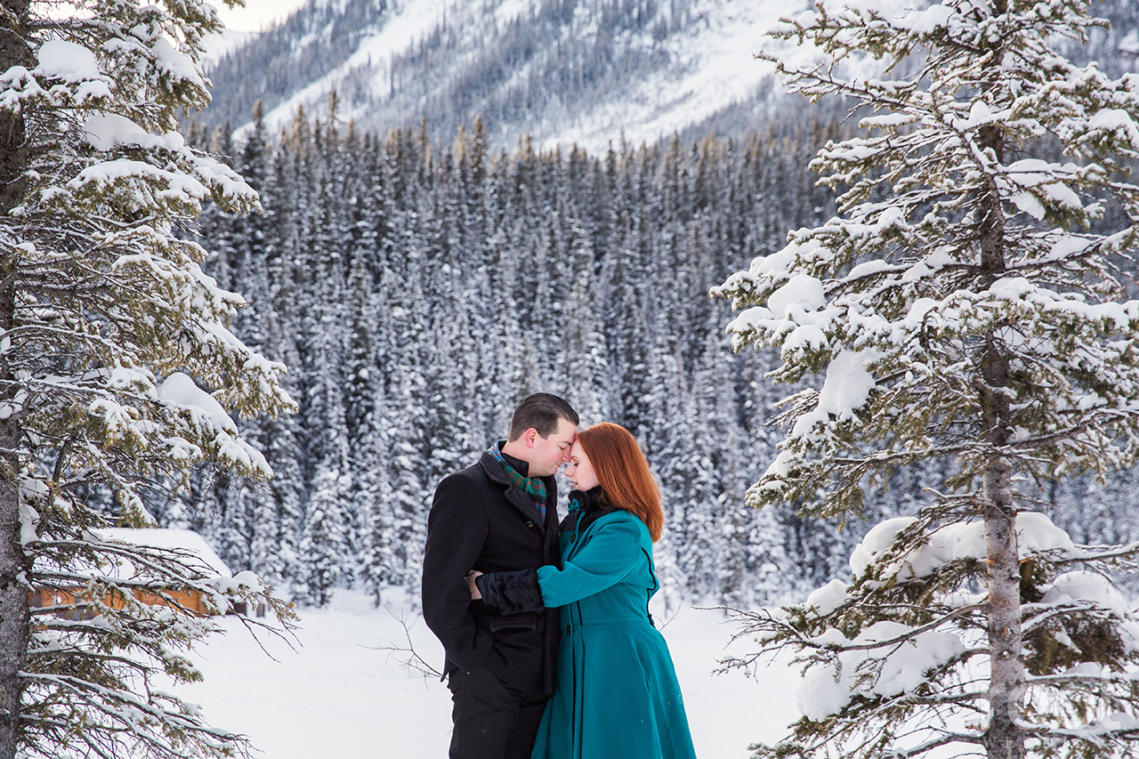 Fairmont Chateau Lake Louise Engagement Session 15