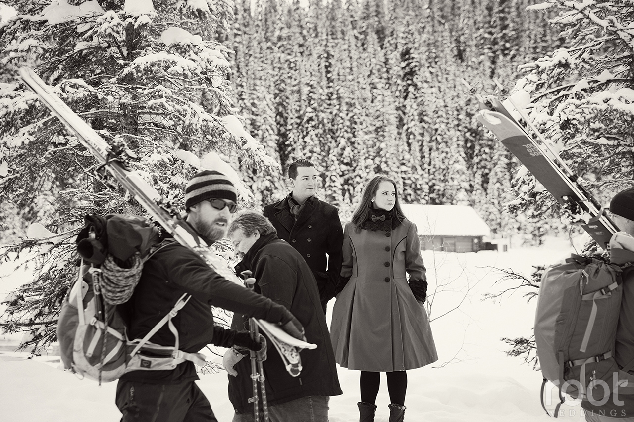 Fairmont Chateau Lake Louise Engagement Session 16