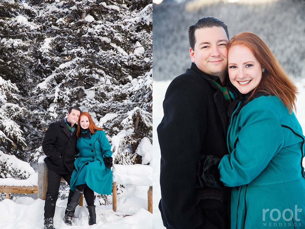 Fairmont Chateau Lake Louise Engagement Session 17