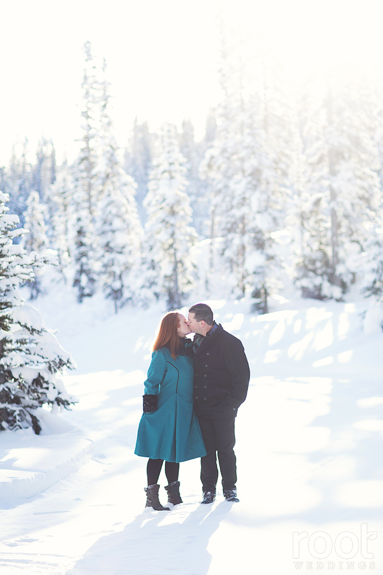 Fairmont Chateau Lake Louise Engagement Session 22