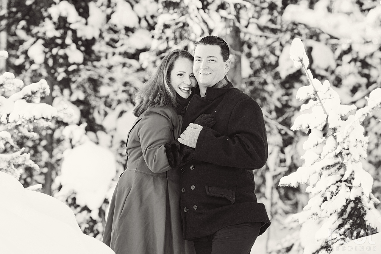 Fairmont Chateau Lake Louise Engagement Session 23