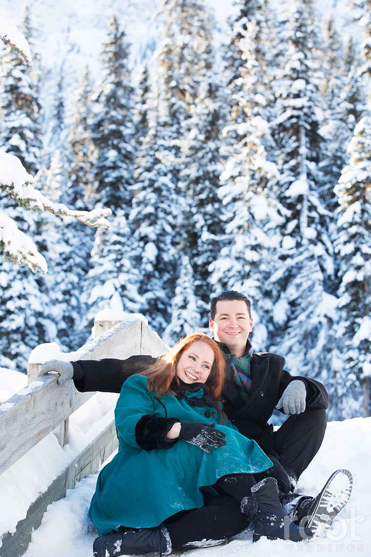 Fairmont Chateau Lake Louise Engagement Session 25
