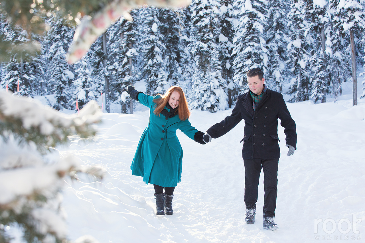 Fairmont Chateau Lake Louise Engagement Session 26