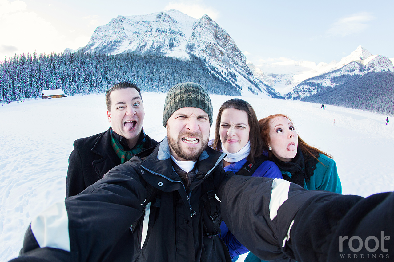 Fairmont Chateau Lake Louise Engagement Session 27