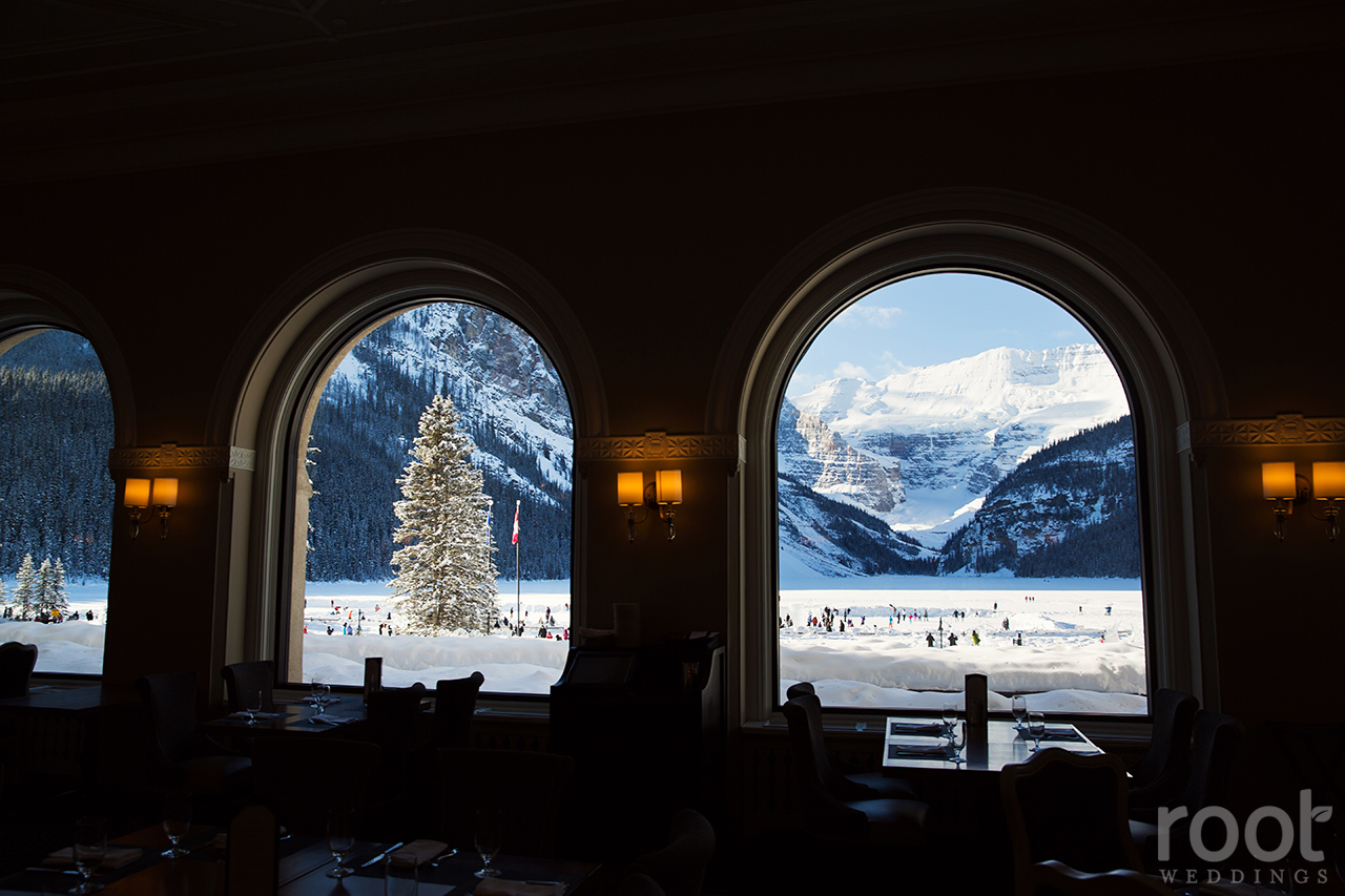 Fairmont Chateau Lake Louise Engagement Session 28