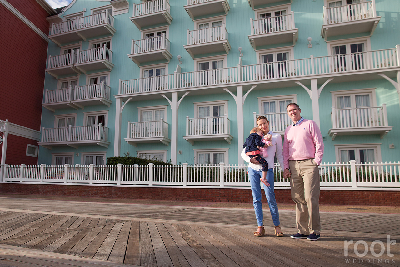 Disney Boardwalk Inn Family Session 05