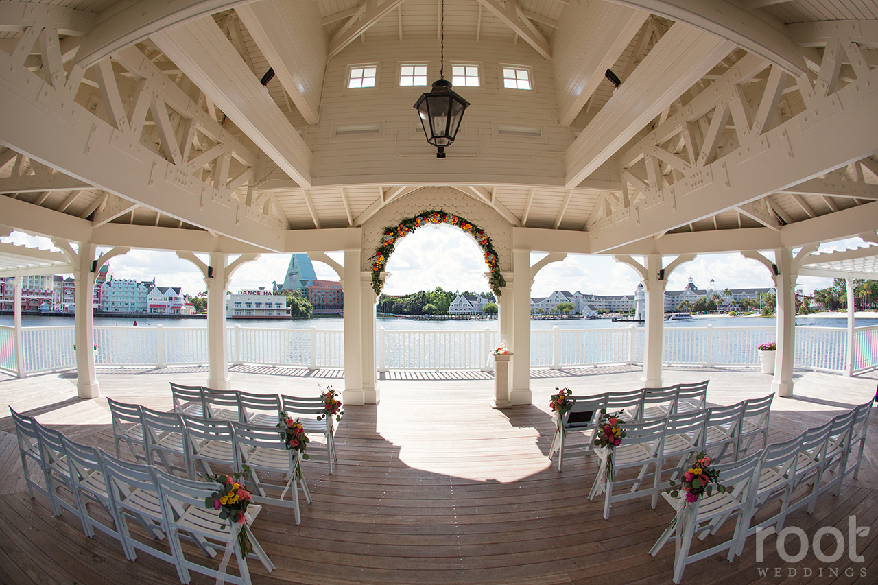 Disney Boardwalk Inn Wedding Napa Room Contemporary 19
