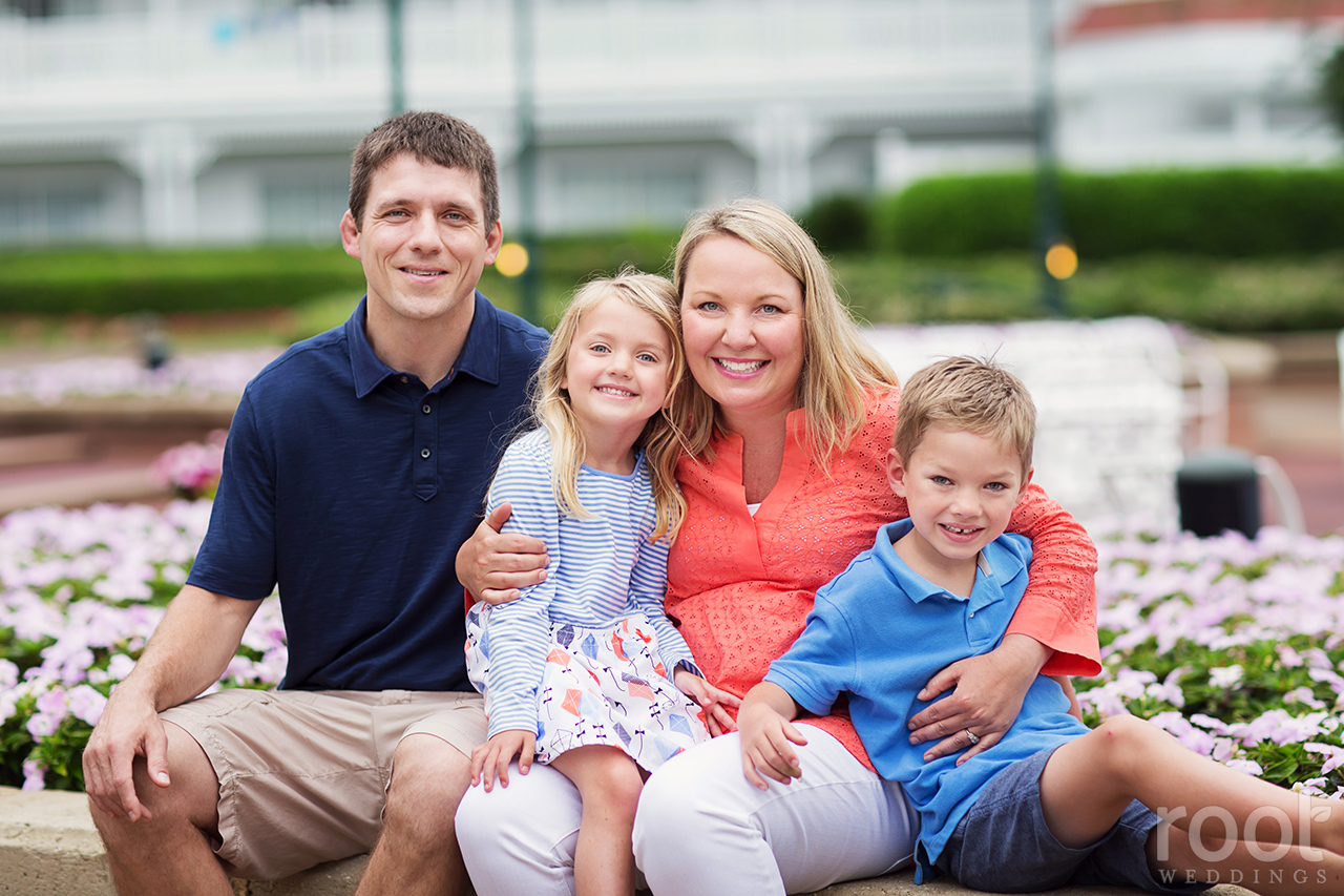 Disney Grand Floridian Family Portrait Session10
