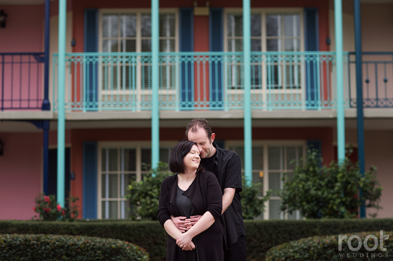 Port Orleans French Quarter Engagement Session 06