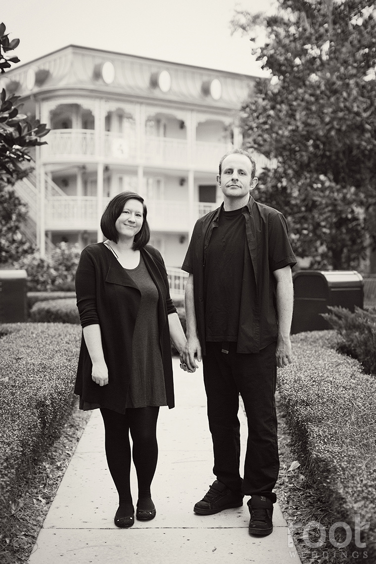 Port Orleans French Quarter Engagement Session 09