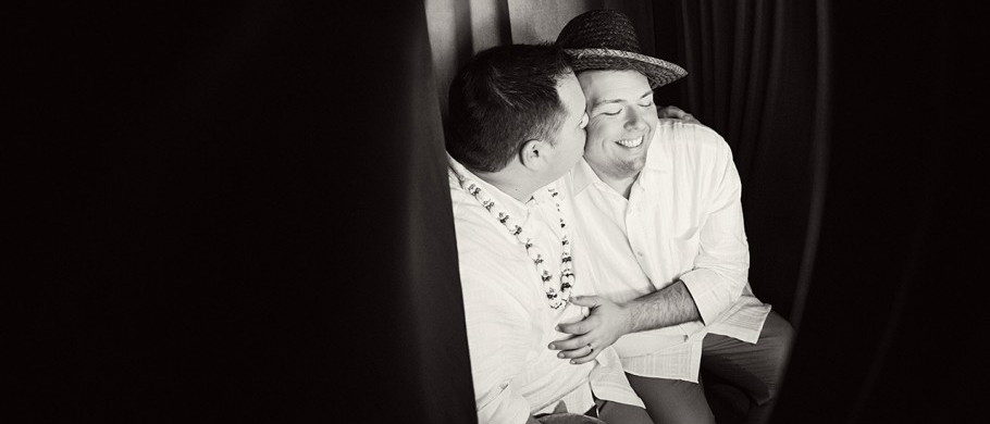 Tim + Mike : Lowes Royal Pacific Wedding at Red Coconut Reception at Universal City Walk