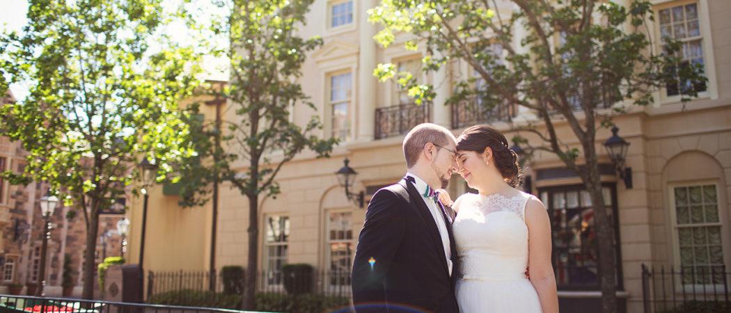 Katharina + Erhard : Epcot Canada Wedding