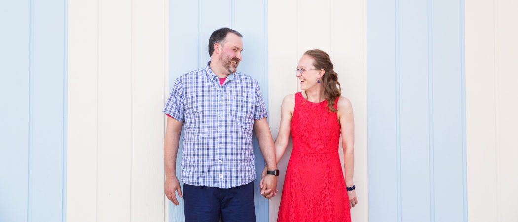 Marcia + Aaron : Boardwalk Inn Engagement Session