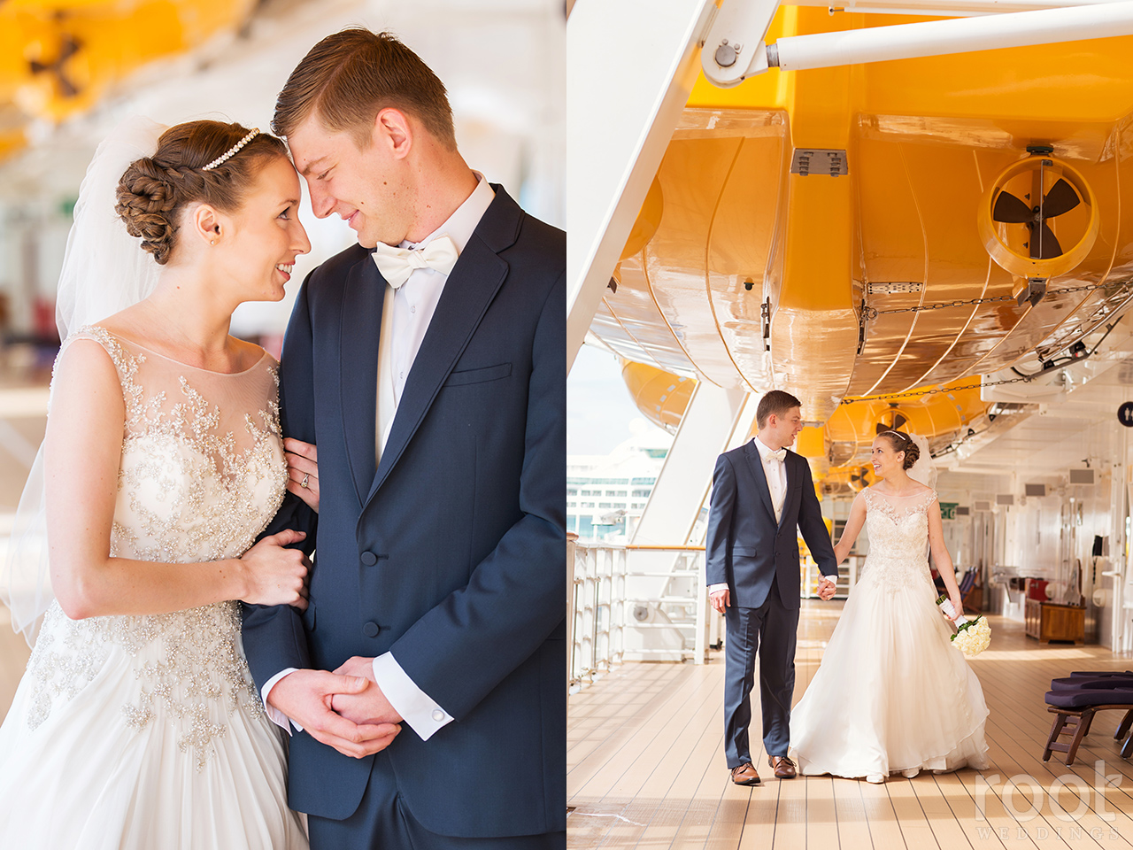 Deanna Michael Disney Cruise Line Wedding On The Disney Dream