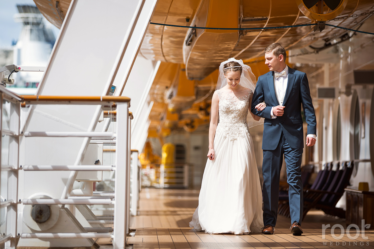 Disney Cruise Line Disney Dream Wedding Photographers 23