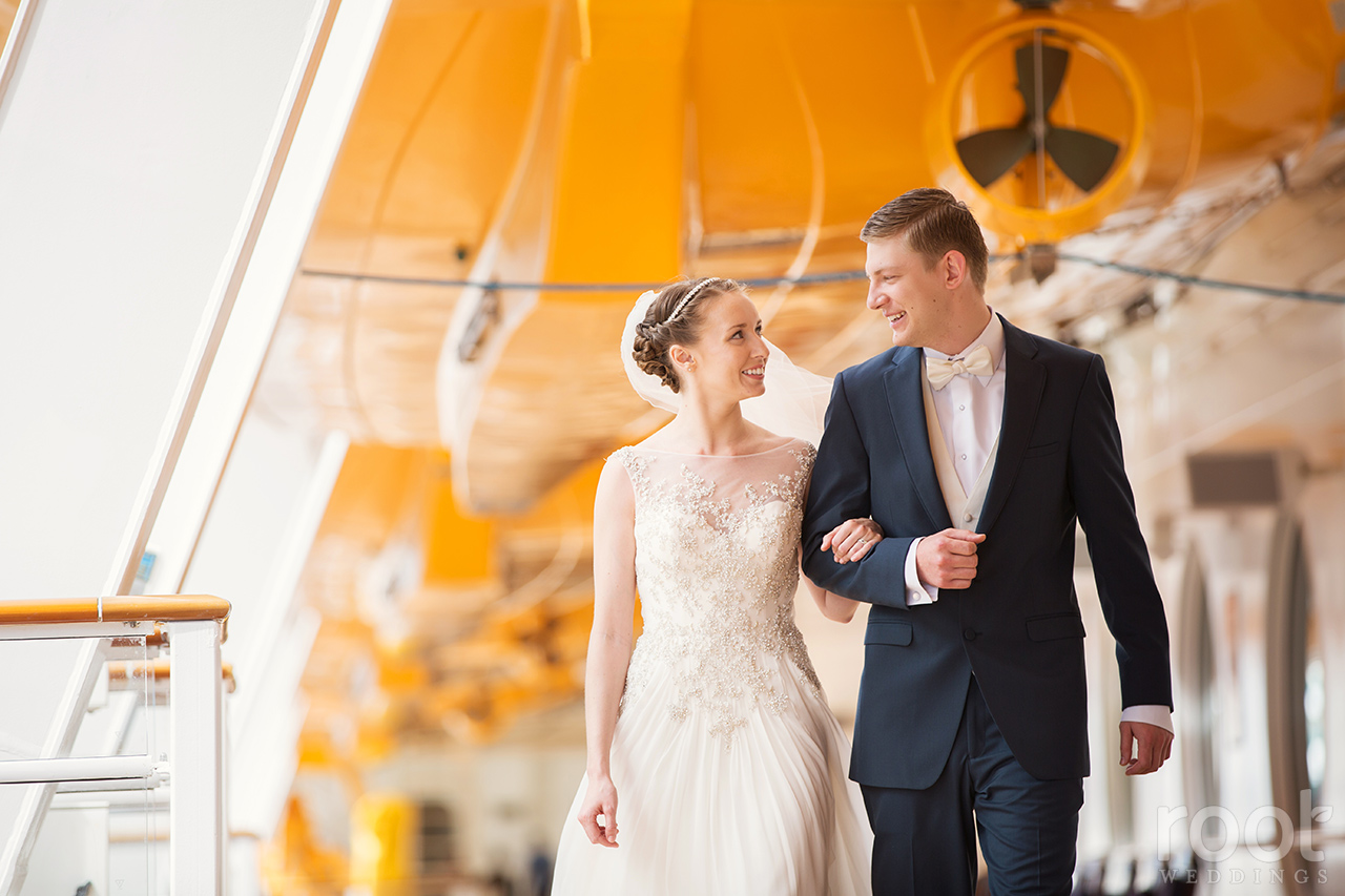 Disney Cruise Line Disney Dream Wedding Photographers 24