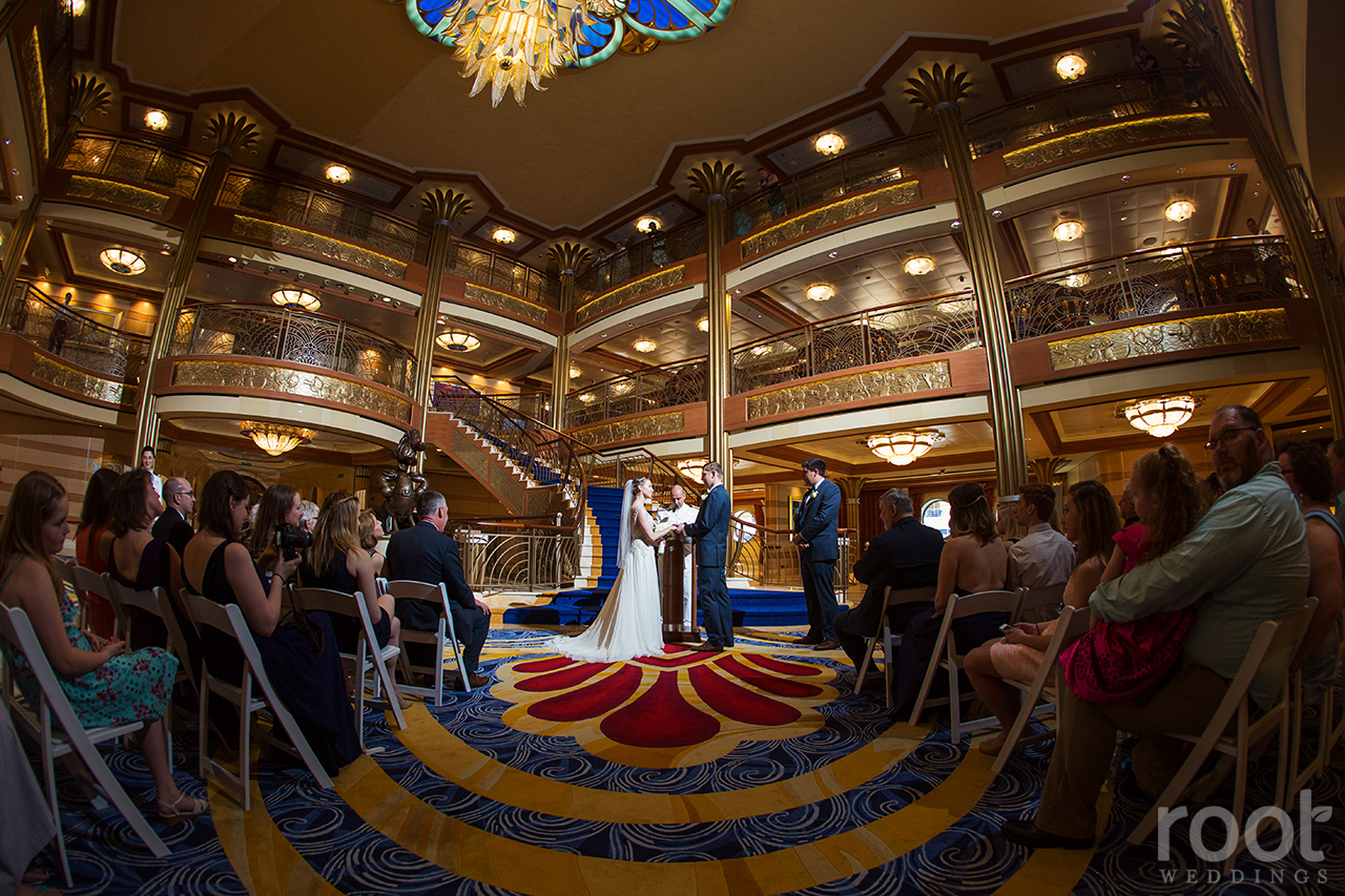 Disney Cruise Line Wedding Cake