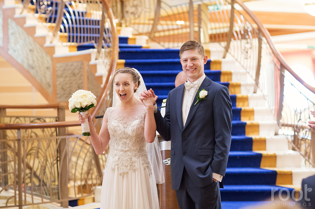 Disney Cruise Line Disney Dream Wedding Photographers 35