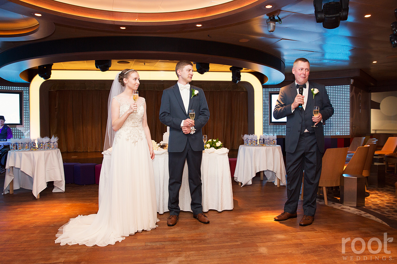 Disney Cruise Line Disney Dream Wedding Photographers 37