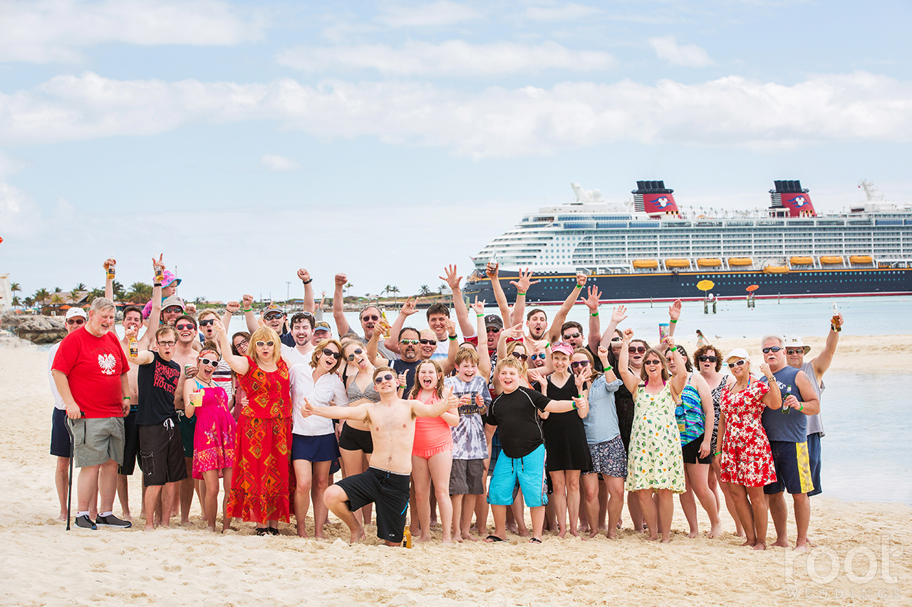 Disney Cruise Line Disney Dream Wedding Photographers 68