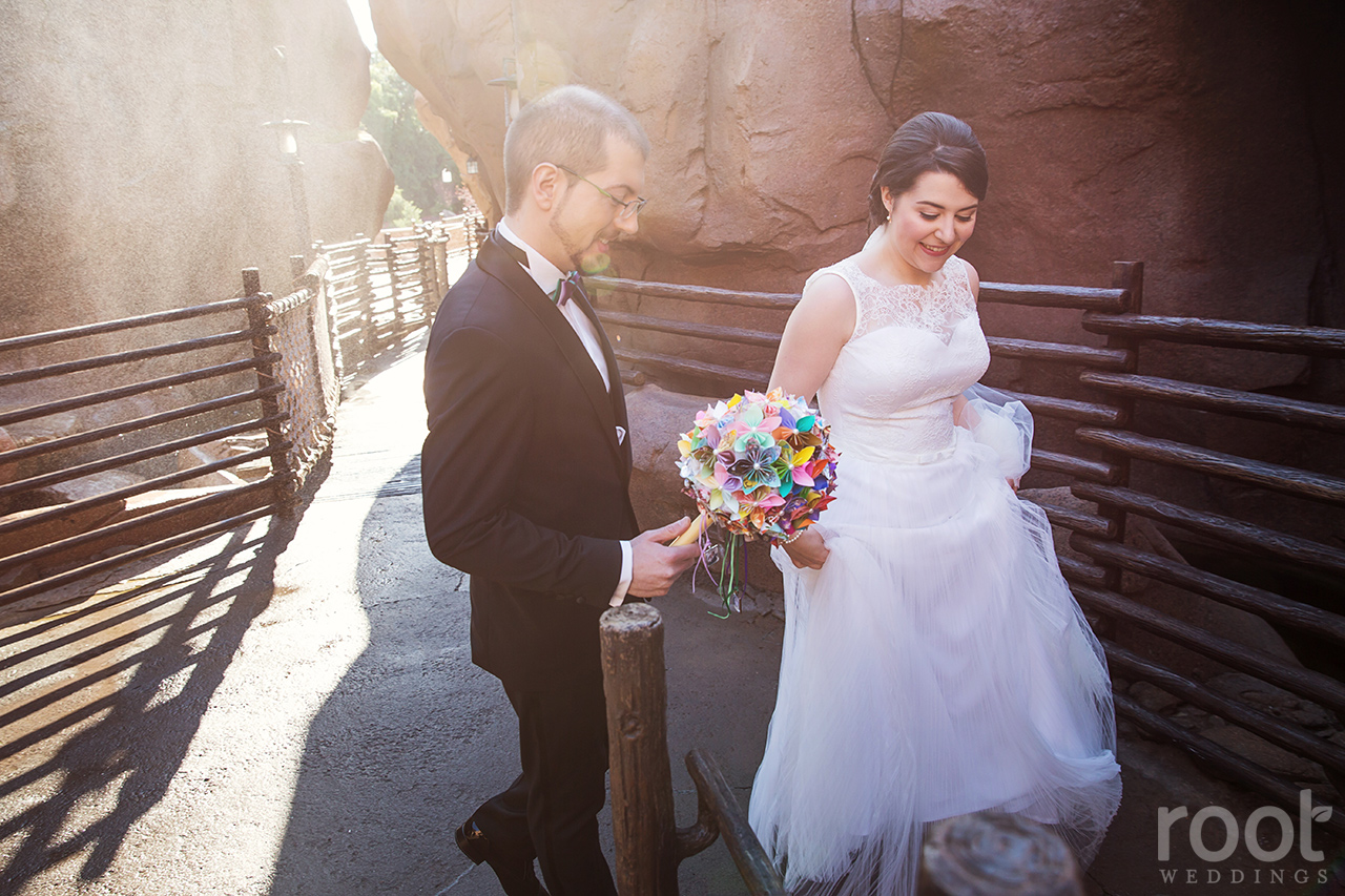 Disney Epcot Canada Wedding 16