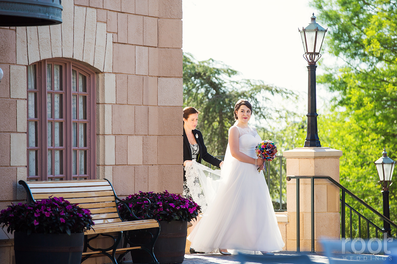 Disney Epcot Canada Wedding 17