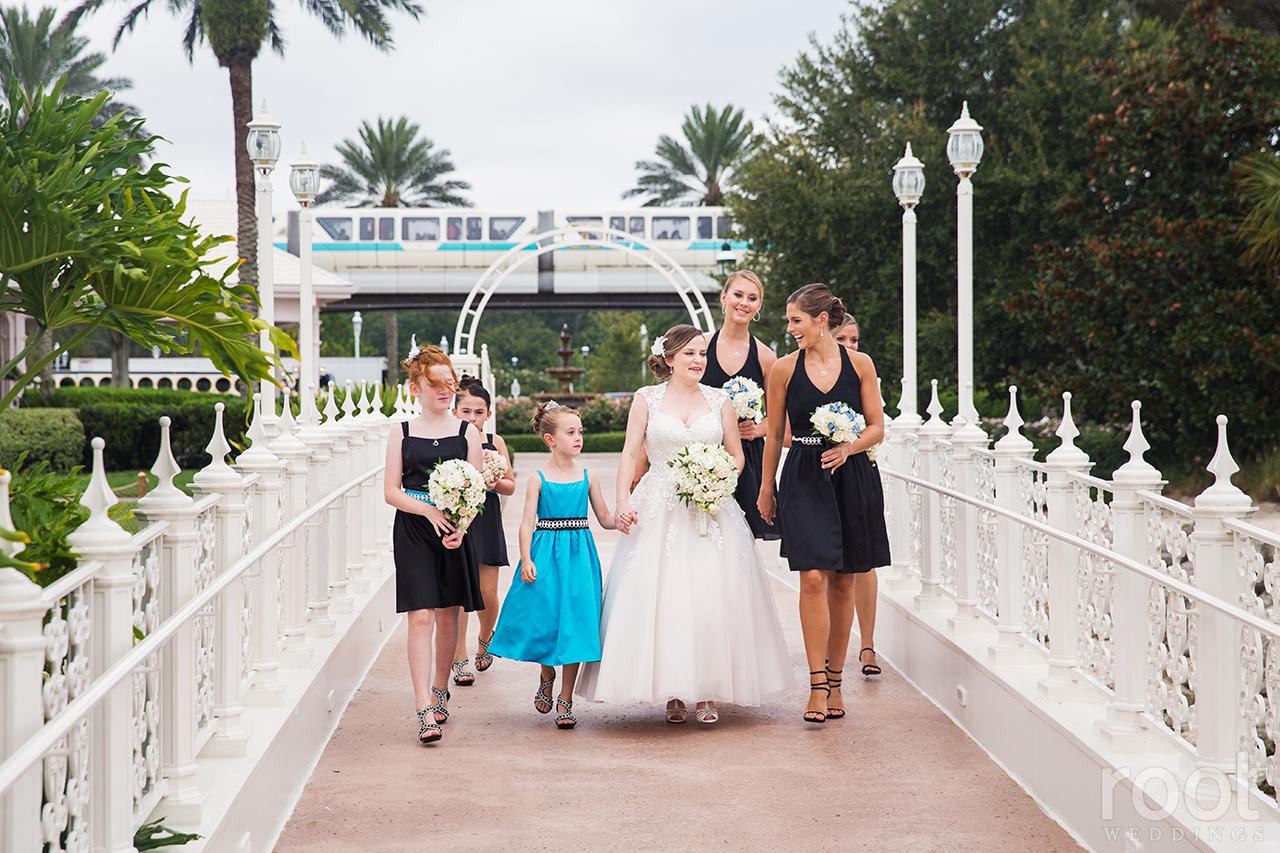 Walt Disney World Grand Floridian Wedding 11